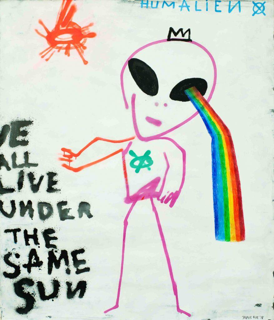 Humalien - Rainbow Eye | Jange Rae | Abo Gallery