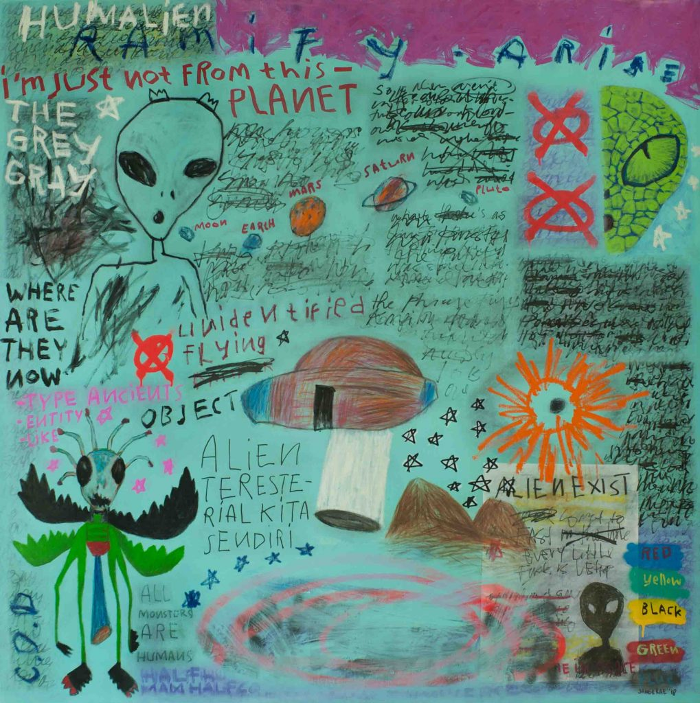 Just Not From This Planet | Jange Rae | Abo Gallery