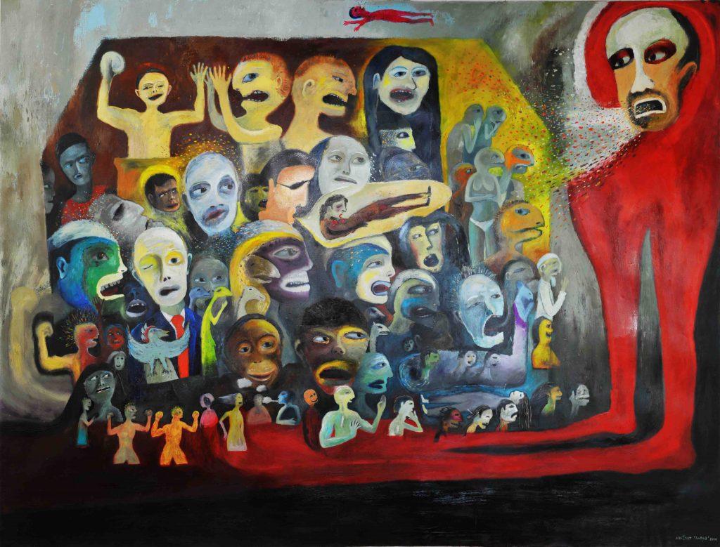Black Campaign   Nester Sinaga   Abo Gallery